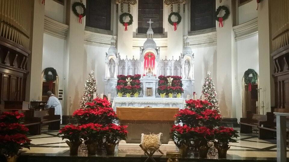 Saint Aloysius Church Interior