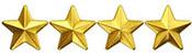 4 stars rating an irish lullaby